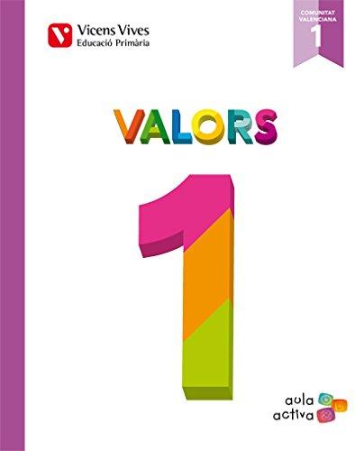 Valors 1 Valencia (aula Activa) - 9788468215518