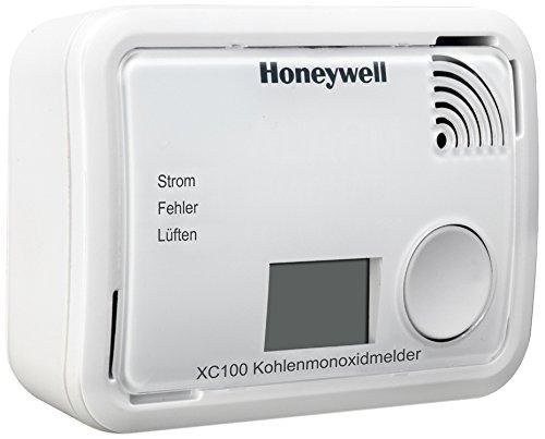 Honeywell Natürlichen (Honeywell Batteriebetriebener Kohlenmonoxidmelder mit CO-Wertanzeige, XC100D-DE)