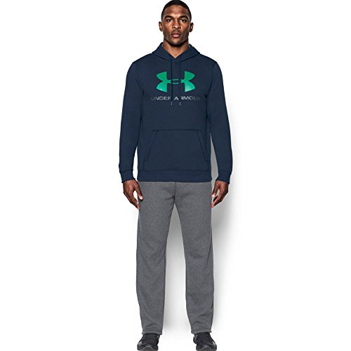Under Armour Rival Fitted Graphic Hoodie Men's Warm-up Top