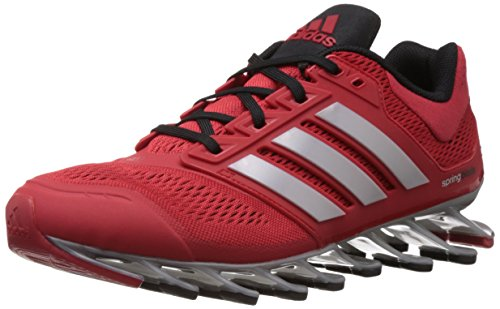 adidas Men's Springblade Drive M Scarlet and Cherry Black Polyester Running Shoes - 9 UK  available at amazon for Rs.11199