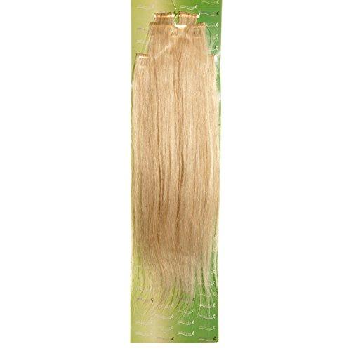 'Dream Hair Extensions à clip Lot de 8 Pièces Blond lisse 22/56 cm Cheveux
