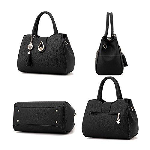 Ruiren Fashion Sports Handtasche Messenger Schultertasche Handtasche Portable Schultertasche für Frauen Rosa