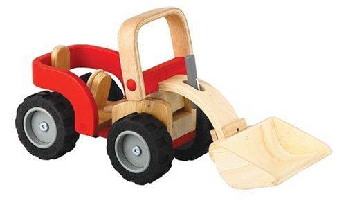 PlanToys - PT6307 - Jouet en bois - Véhicule - Bulldozer