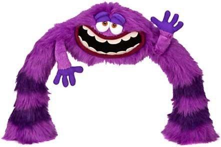 Disney / Pixar Monsters University Poseable LEG / ARM ART 12 Plush by Disney (Monster University Spielzeug)