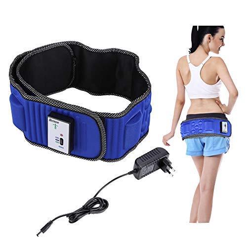 Elektrische vibrierende Taille Massage mit 5 Motoren , Elektrische Taillenmassage Elektrische Vibration Gewichtsverlust Massage Bauch abnehmen Fitness-Massagegürtel, Natürliche Abnehmen Fett Bauch (Massage Taille)