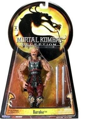 Mortal Kombat Deception Series 1 Action Figure Baraka by Midway