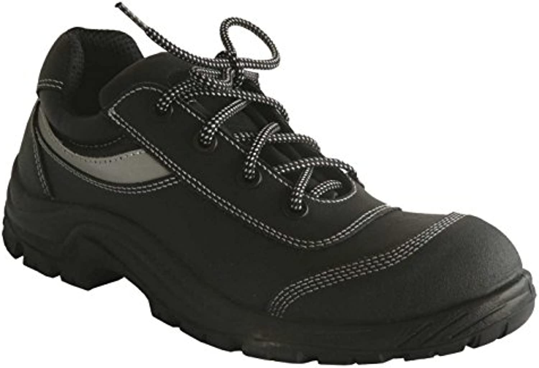 GSA 1024964014 par de zapatos bajos Buffalo Light Plus S3 SRC, negro, 48