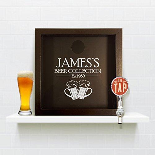 3902637703699 EAN - Beer Cap Frame, Home Bar Personalised Bottle Cap ...