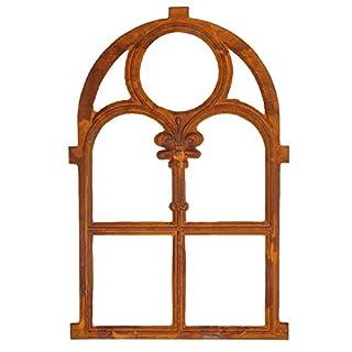 aubaho Nostalgie Stallfenster 46 x 74cm Fenster Gusseisen Rahmen rostig Antik-Stil