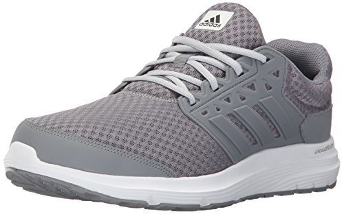 adidas Galaxy 3 M - Zapatillas de Running de Tela para Hombre Gris Grey/Grey/Clear Grey