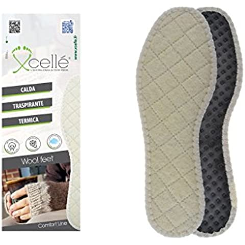 Coppia solette termiche per tenere i piedi caldi in inverno