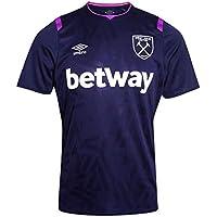 Umbro Men's West Ham 2019/2020 Official Third Short Sleeve Shirt