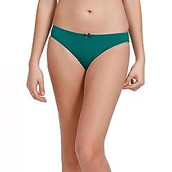 Zivame Womens Plain Bikini (ZI2001_Blue_X-Large)