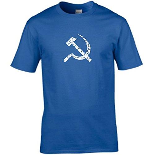 S Tees -  T-shirt - Collo a U  - Maniche corte - Uomo Blu