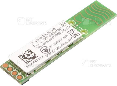 HP Ersatzteil Inc. Bluetooth Module 4.0 Bulk, RP000130770 (Bulk Bluetooth 4.0 Module w/EDR - NO Cable) -