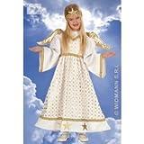 Widmann 4921E Kostüm für Kinder Sternenengel, Größe 98-104