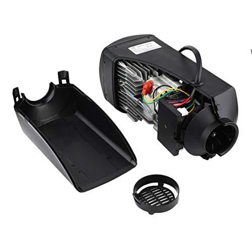 Calefactor estacionamiento Aire 12V 5000W Negro Duradero