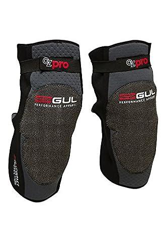 Gul CZ Pro Genouillère avec Technologie d3o intelligent en mousse, Homme, Noir