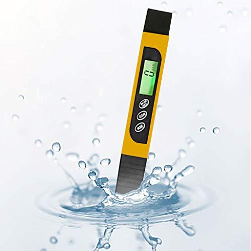 Profi Digitale Wasserqualitätstester PH Messgerät, Wassertestgerät Ph Chlor, Tragbarer Wasseraufbereiter Water Test Meter, Ideal Wasser Tester für Pool Teich Trinkwasser Aquarien Schwimmbad by Hukz -