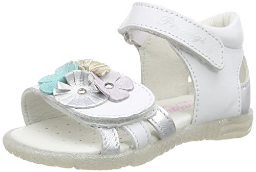 Primigi Magdalene, Baby Girls' Walking Shoes Sandals, White - Weiß (BIANCO/ARGENTO), 5 Child UK (22 EU)