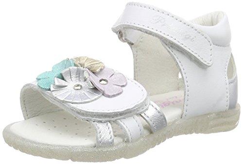Primigi Magdalene, Baby Girls' Walking Shoes Sandals, White - Weiß (Bianco/Argento), 5 Child UK (22 EU)