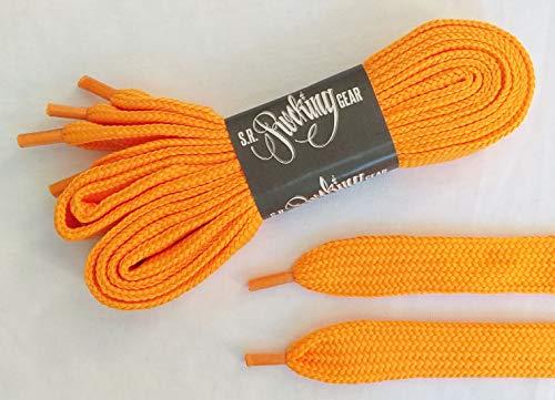 Rocking Gear Phat Laces Extra Ancho Cordones, Naranja