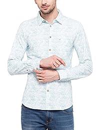 Lee Cooper Men's Printed Regular Fit Casual Shirt