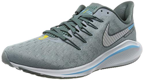 Nike Air Zoom Vomero 14, Scarpe da Running Uomo, Blu (Aviator Grey/Pure Platinum/Blue Fury 002), 42 EU