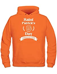 Saint Patrick's Day Hangover Team Hoodie by Shirtcity