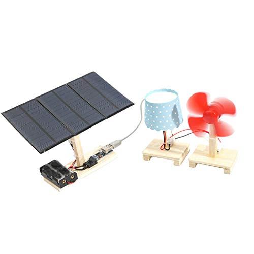 Set 6ST DIY Wissenschaftliche Pädagogische Spielzeug Kid Student Physik Experiment Kits - Solar Power Station
