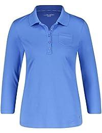 aab8f49ae56fd8 Gerry Weber Damen T-Shirt 3 4 Arm 3 4 Arm Poloshirt hautfreundlich