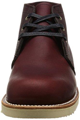 Chippewa BUR Hommes Desert Boots Bourgogne