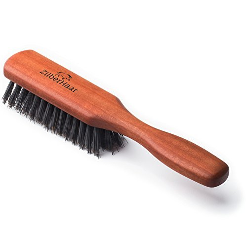 Premium Beard Brush - Pure Boar Bristle...