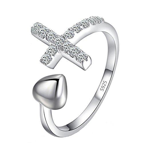 vendita-calda-personalit-classico-lusso-argento-rhinestone-cuore-croce-regalo-per-lamica-aperto-rego