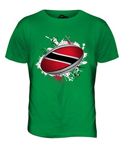 CandyMix Trinidad Und Tobago Rugby Ball Herren T Shirt Grün