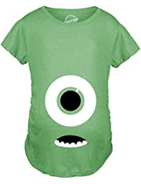 c168846a7 Crazy Dog Tshirts - Maternity Monster Eye Ball Funny Pregnancy Announcement  Tees Cute Baby T Shirt