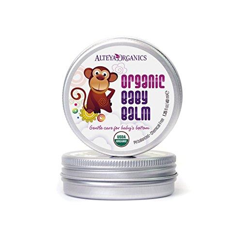 Alteya Organic Balsamo da Bambini 40ml – USDA certificato organico, vincitore di premio, puro bio trattamento per cura pelle, basato su olio essenziale di Rosa Bulgara Guarisce e protegge la pelle