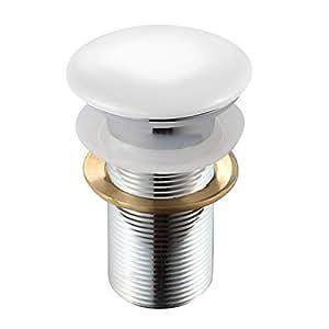 ablaufgarnitur pop up ventil aus metall ohne berlauf f r standard waschtisch waschbecken. Black Bedroom Furniture Sets. Home Design Ideas