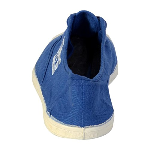 Basket Wati B Charlie Lacet Bleu Royal Bleu Royal