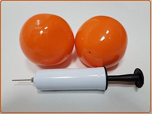 Franklin Universal Ball - 2er-Set + Kleine Ballpumpe - Sanfte unterstützung für empfindliche Franklin-Schüler!
