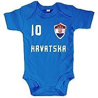 Baby Body Kroatien Shirt//Viele Eltern haben sch/öne Kinder Aber Kroaten m/üssen /übertreiben//Hrvatska