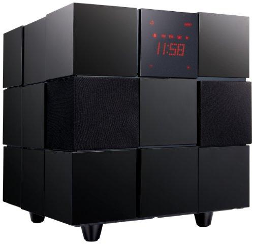 LG ND8520 acoplamiento altavoz - Altavoces (2.1, 80 W, 8 Ohmio, 3,5 mm, FM, PLL, Corriente alterna)