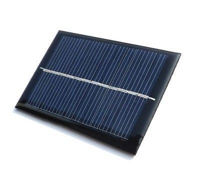 SOLAR PANEL 3V  available at amazon for Rs.222