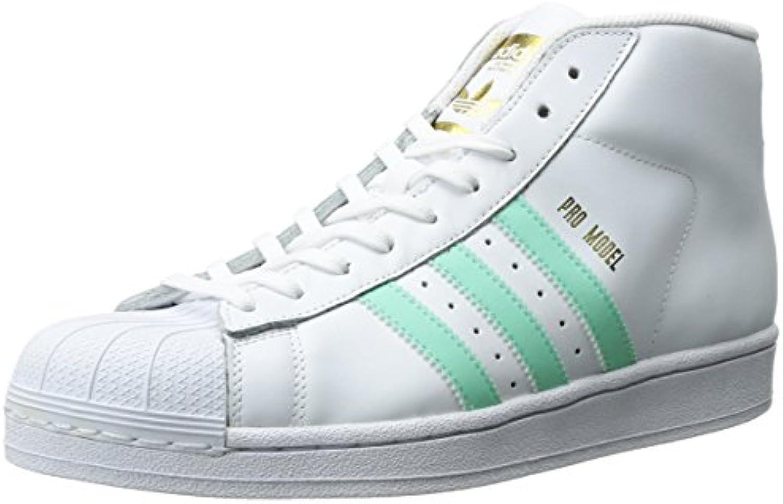 adidas originaux des modèle hommes mode pro baskets modèle des vert, blanc / facile métallique ou en or, 8 m 1df58c