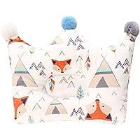 WEIHUIMEI - Almohada Protectora de algodón para bebés recién Nacidos, decoración de Dormitorio y Accesorios, algodón, 1#, 23 * 22.5 * 4CM