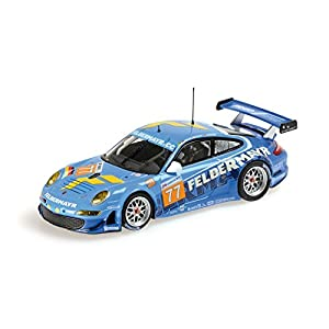 Minichamps - 410106977 - Vehículos en Miniatura - Modelo para la Escala - Gt3 Porsche 911/997 RSR - Le Mans 2010 - Escala 1/43
