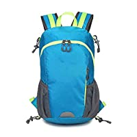 WYX New Backpack, Lightweight Nylon Multi-Function Mountaineering Bag Outdoor Waterproof And Leisure Male and Female Bag for Travelling Camping Hiking,C