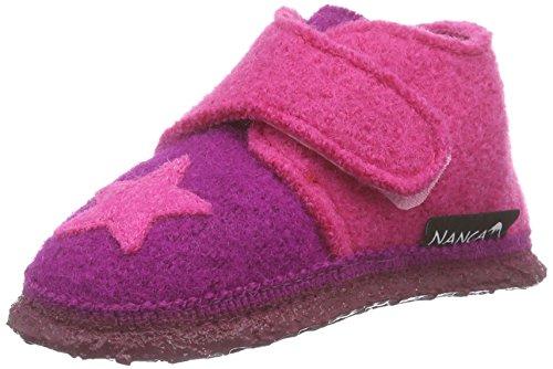 Nanga Stern, Chaussons premiers pas mixte bébé Rose Pink