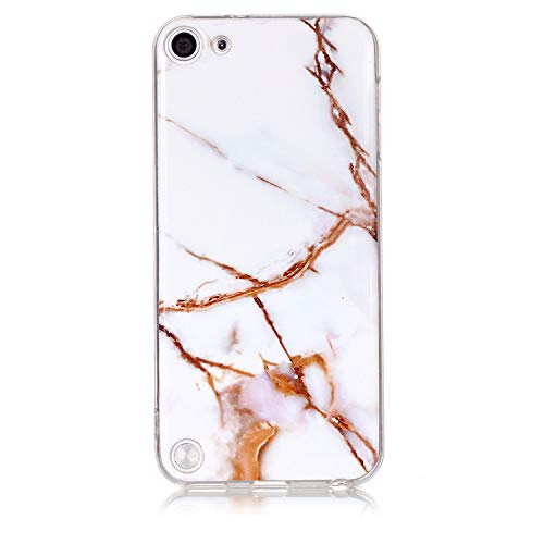Ultra Dünn Slim Anti-Rutsch Flexible 3D Marble Kreative Soft Licht Gel Gomma TPU Bling Glitter Glitzer Silikon Schutz Handy Hülle Case Tasche Etui Bumper für Apple iPod Touch 5 Touch 6 - 3d-cases Für Bling Den Ipod 5