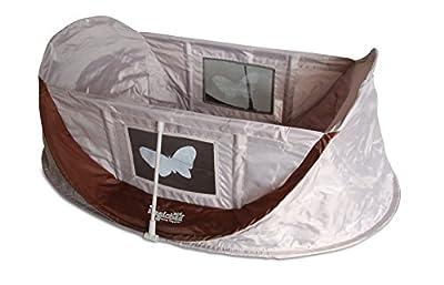 Magicbed MB070CHOC - Mini-cuna de viaje plegable para niños, color chocolate